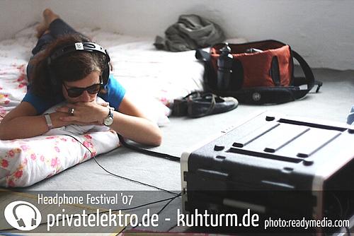 Monomeier / headphone festival / Leipzig