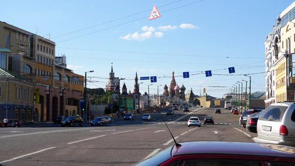 Luxus: Wohnen in der Spuckweite vom Roten Platz.